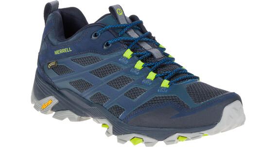 Merrell Moab FST Gore-Tex Schoenen Heren grijs/blauw